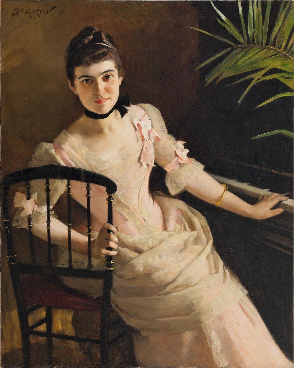 Charles Giron Jeune femme au piano.jpg