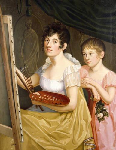 Caroline Bardua - Johanna & Adele Schopenhauer (1806).jpg