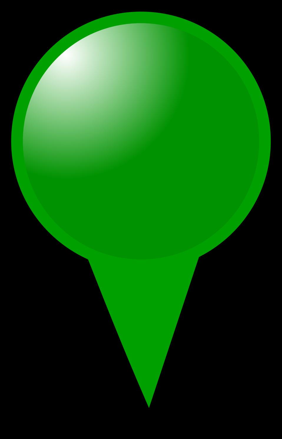 Green Map Marker
