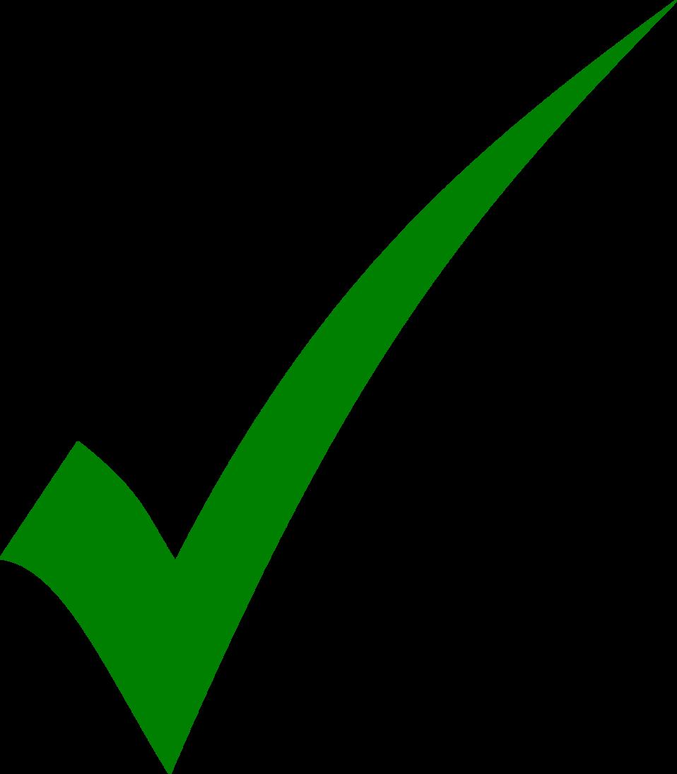 Green tick - simple