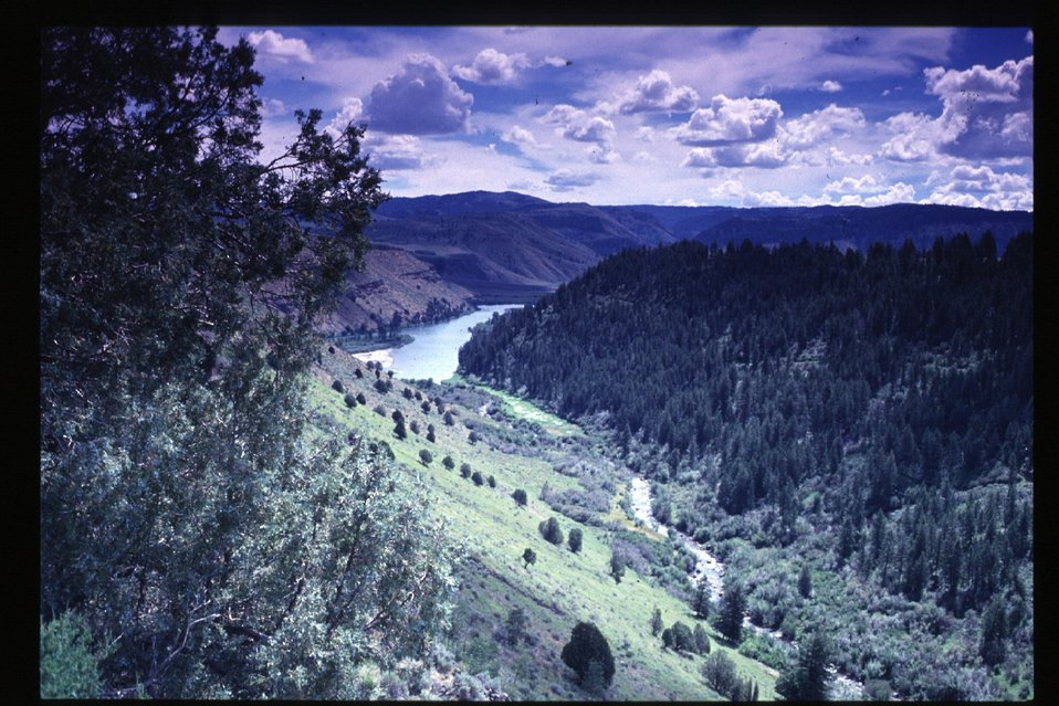 Sout Fork of Boise River  Scenic  Rangeland  Four Rivers Field Office  LSRD  Lower Snake River District