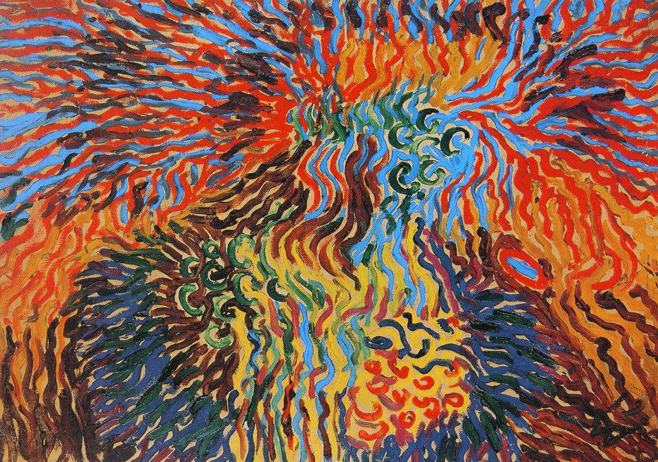 Astrale Komposition XI, Neuss, Clemens-Sels-Museum