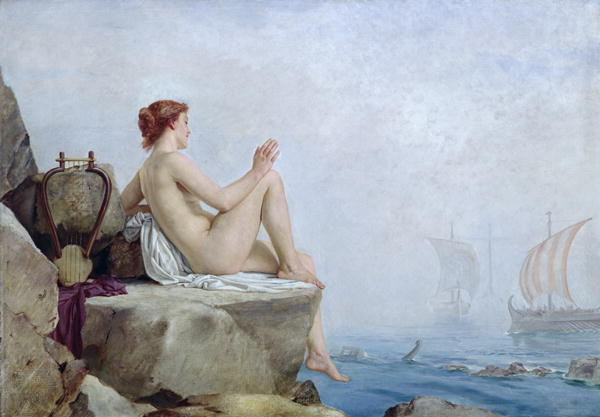 The Siren, oil on canvas, Leeds Art Gallery