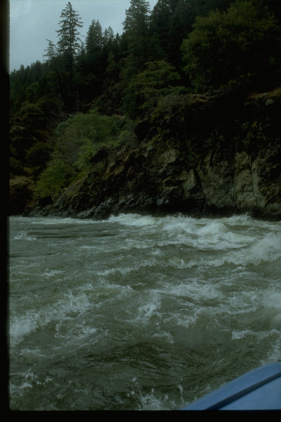 Wild whitewater section of the Rogue River.