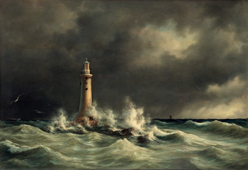 Anton Melbye - Fyrtårn for Storebælt.jpg