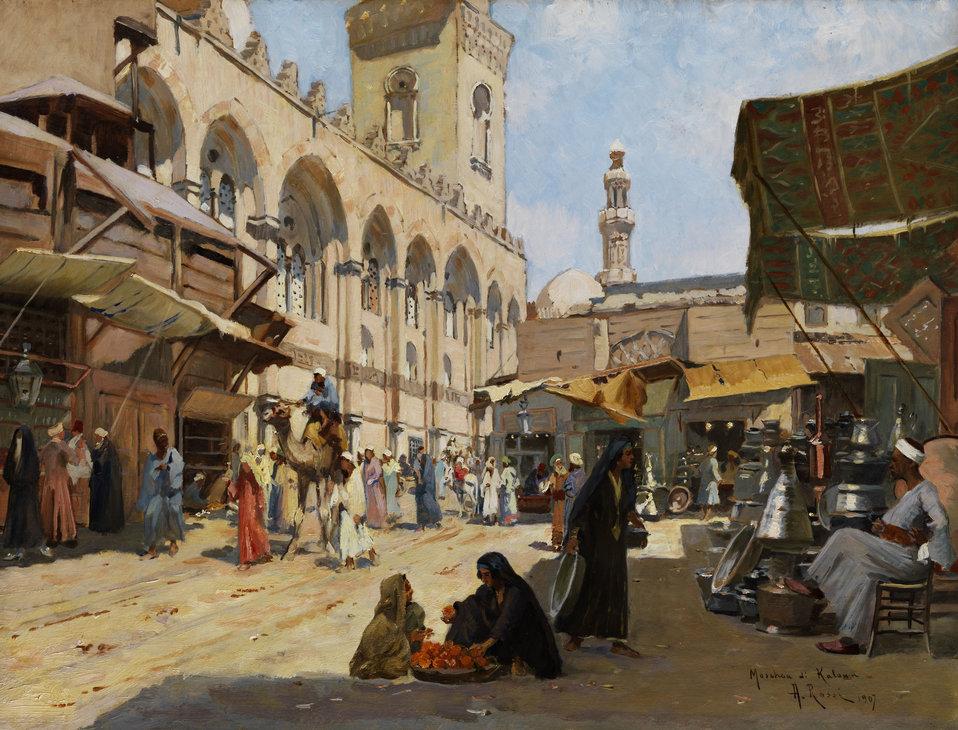 Alberto Rossi Arabischer Markt in Kaloun.jpg