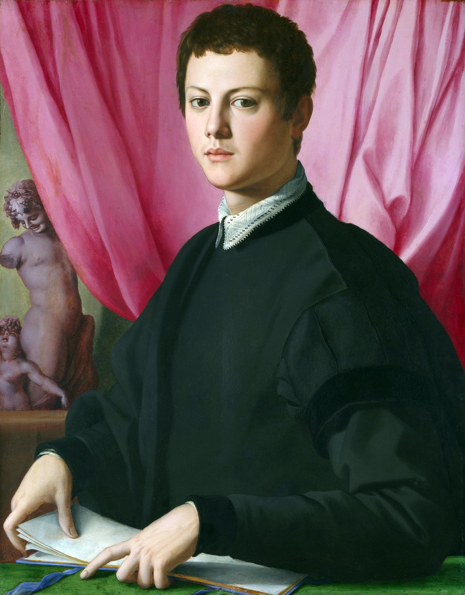 Angelo Bronzino - Portrait of a Young Man.jpg