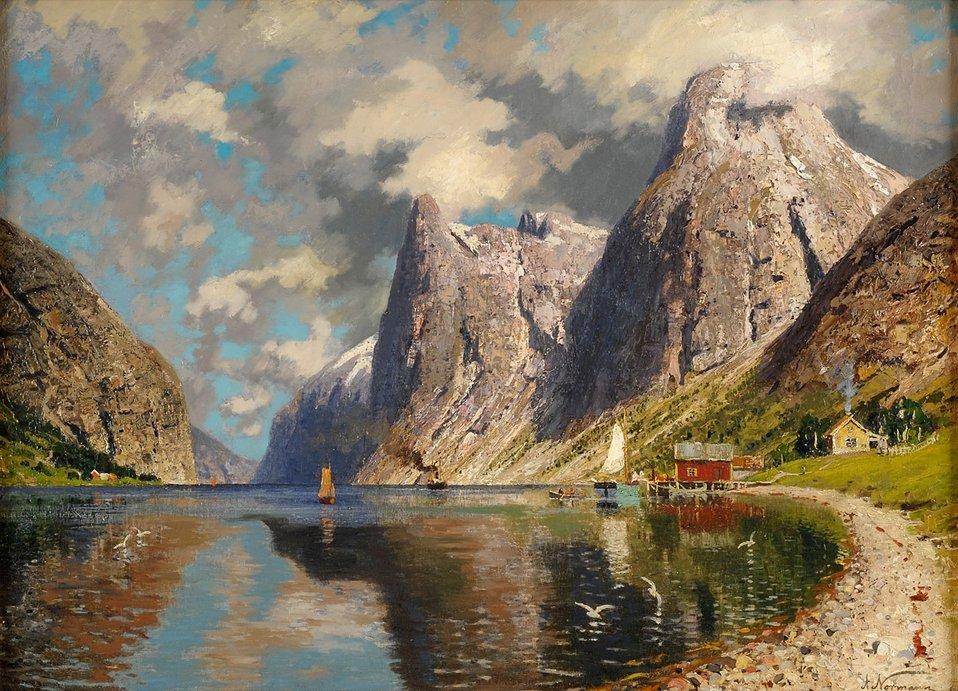 Adelsteen Normann Sommer im Fjord.jpg