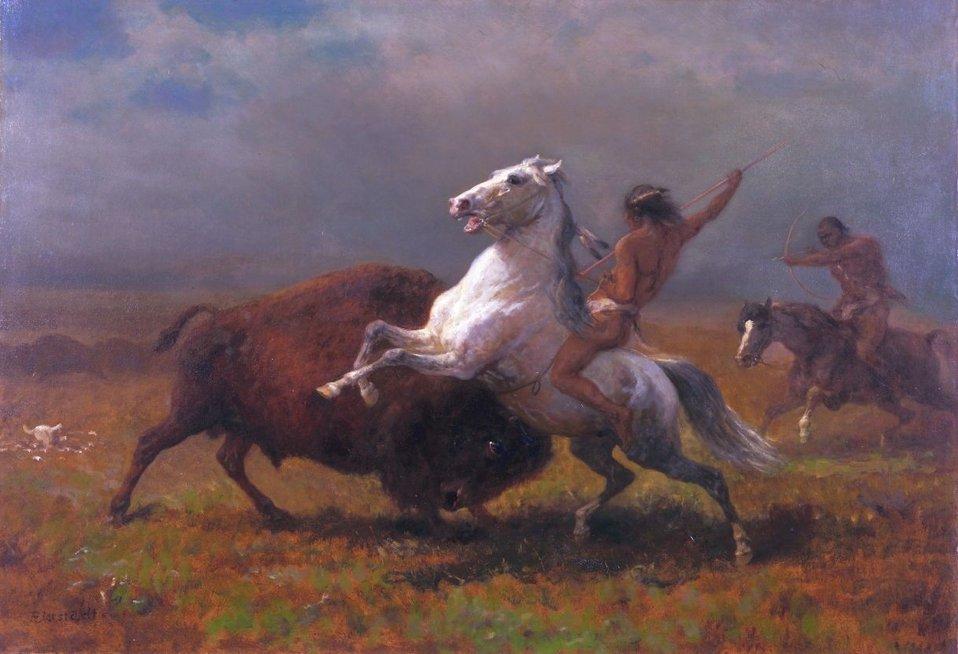 Albert Bierstadt - Study for The Last of the Buffalo.jpg