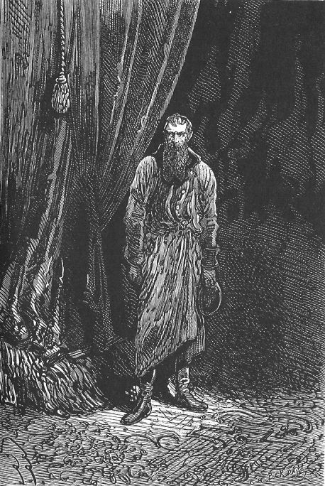 An illustration from the novel 'Michael Strogoff: The Courier of the Czar' by Jules Verne drawn by Jules Férat. Polski:  Ilustracja powieści Juliusza Verne'a 'Michał Strogow, kurier carski' autorstwa Julesa Férata. Français:  'Michel Strogoff