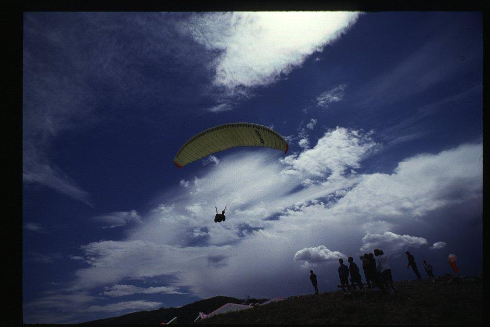 Hang Gliders on King Mountain  Arco Idaho  Idaho Falls Field Office  USRD  Upper Snake River District