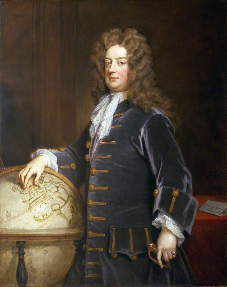 Admiral Edward Russell (1652–1727), 1st Earl of Orford by Godfrey Kneller.jpg