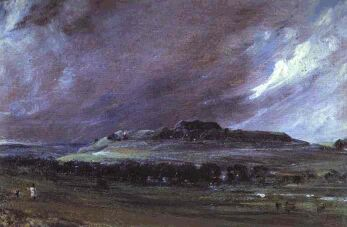 Old Sarum by John Constable, 1829.