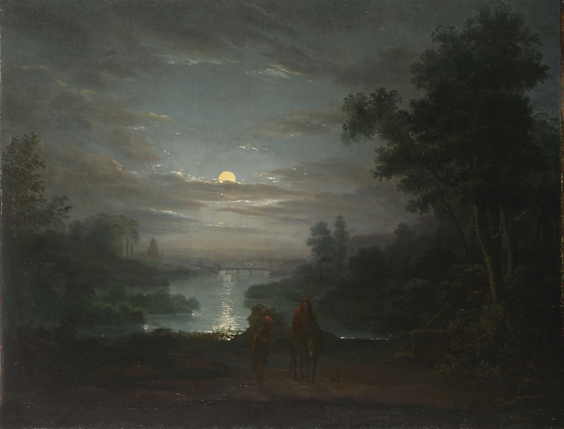 Abraham Pether - Rest on the flight into Egypt.jpg