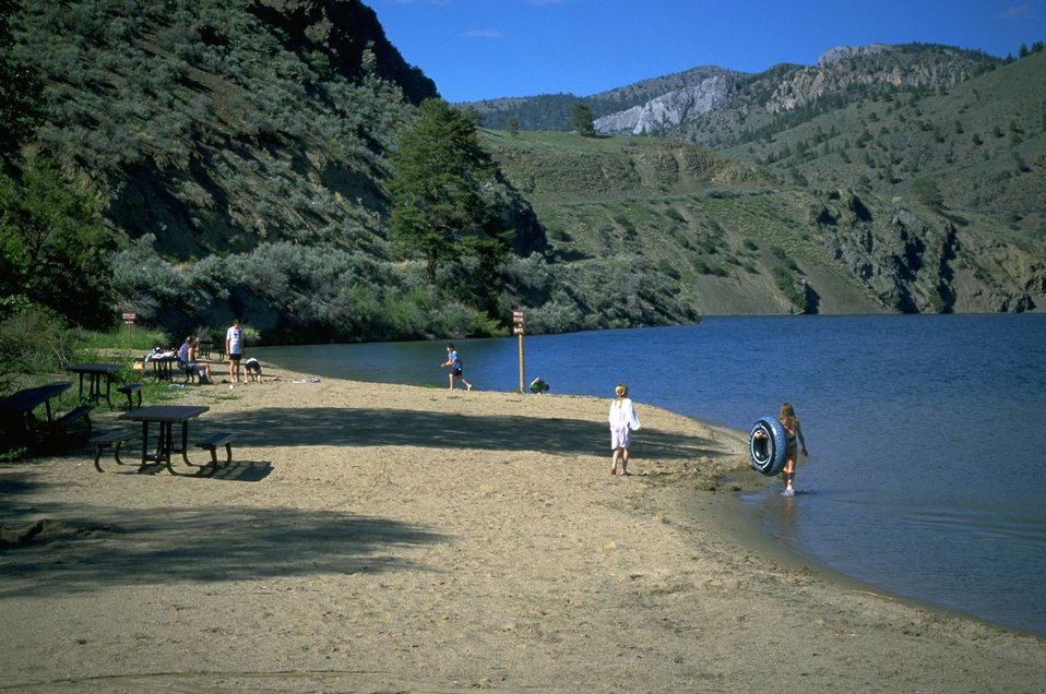 Swimming Area at Houser Lake