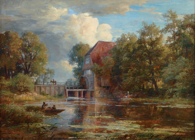 AF Vollmer - An der Wohldorfer Mühle.jpg