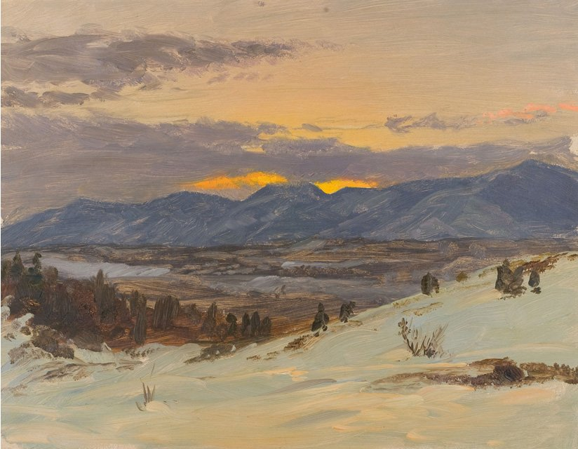 'Winter Twilight from Olana' by Frederic Edwin Church, about 1871-2.jpg