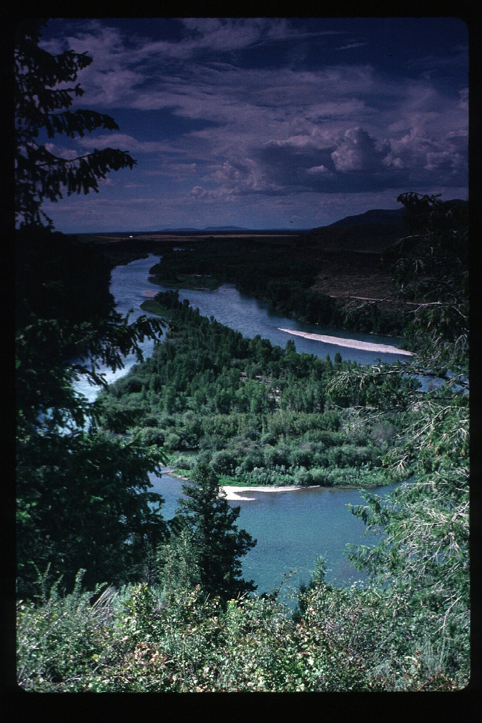 South Fork of Snake River  Scenic  Idaho Falls Field Office  USRD  Upper Snake River District