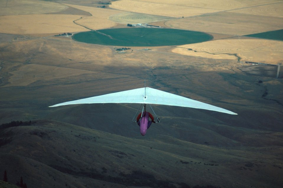 Hang Gliders  King Mountain  Arco Idaho  Idaho Falls Field Office  USRD  Upper Snake River District