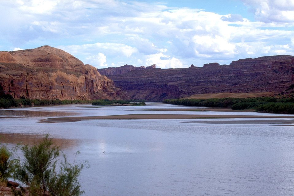 Colorado River near Moab, Utah.