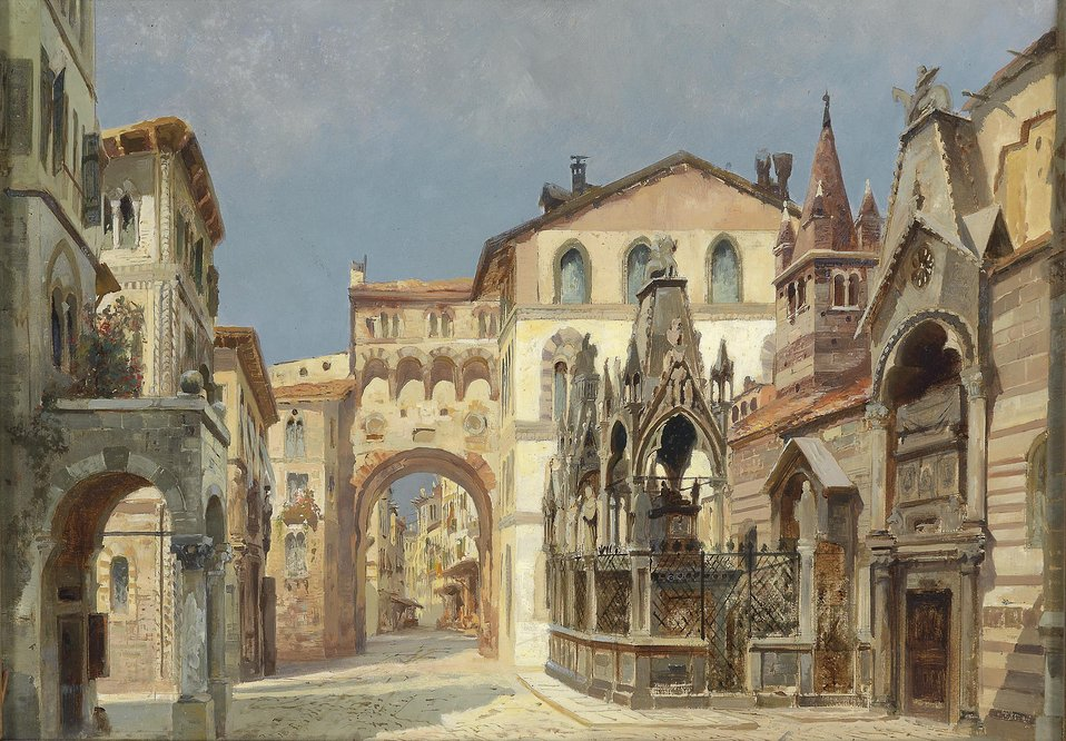 Anton Brioschi Scagliergräber in Verona.jpg