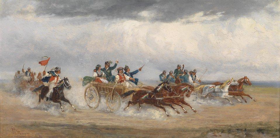 Alfred Steinacker Ungarischer Hochzeitswagen.jpg