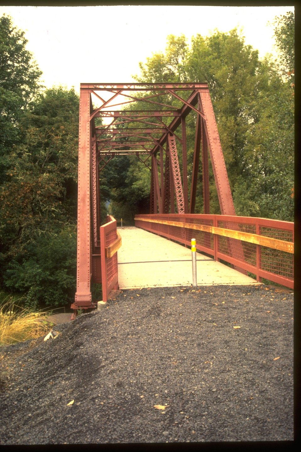 Bridge on Row River Trail.
