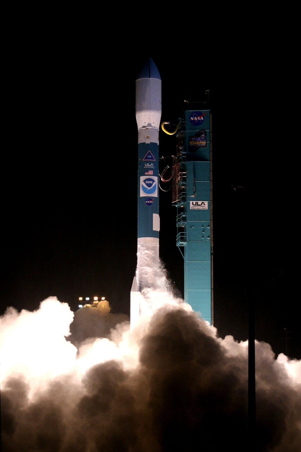 Launch of NOAA-N Prime from Vandenberg Air Force Base.