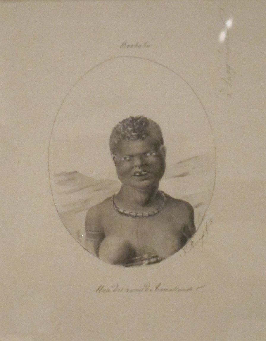 'Hawaii, a Widow of Kamehameha I' by Jacques Arago, Honolulu Museum of Art.JPG