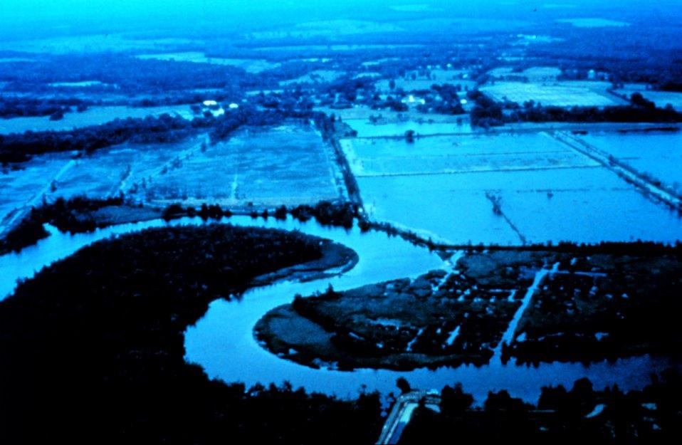 ACE Basin National Estuarine Research Reserve.  Managed impoundments along the Edisto River.