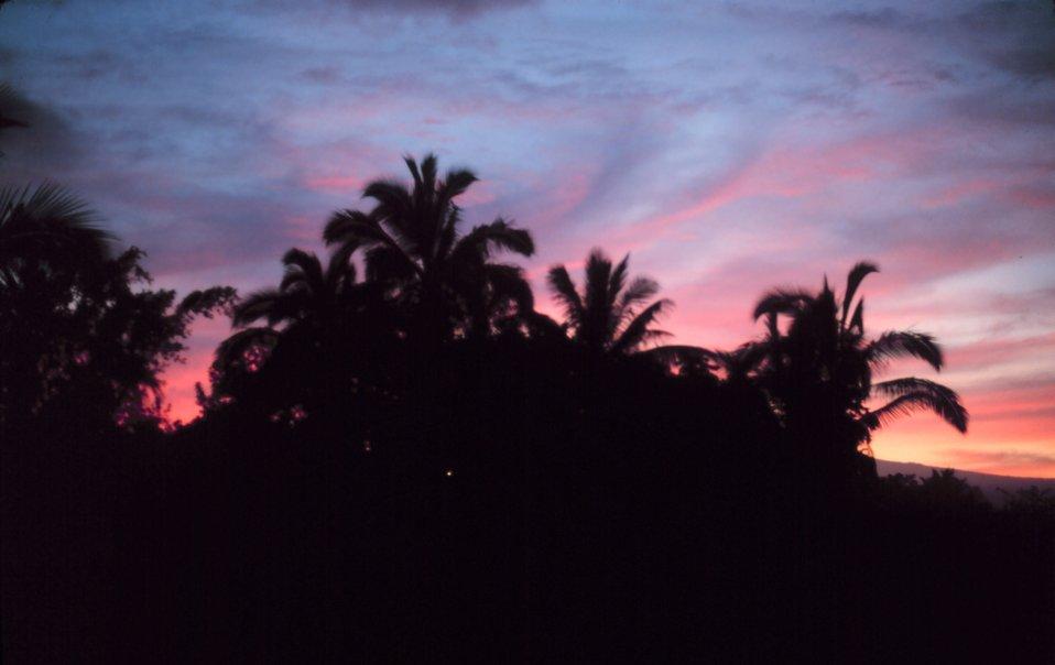 A Hilo sunset