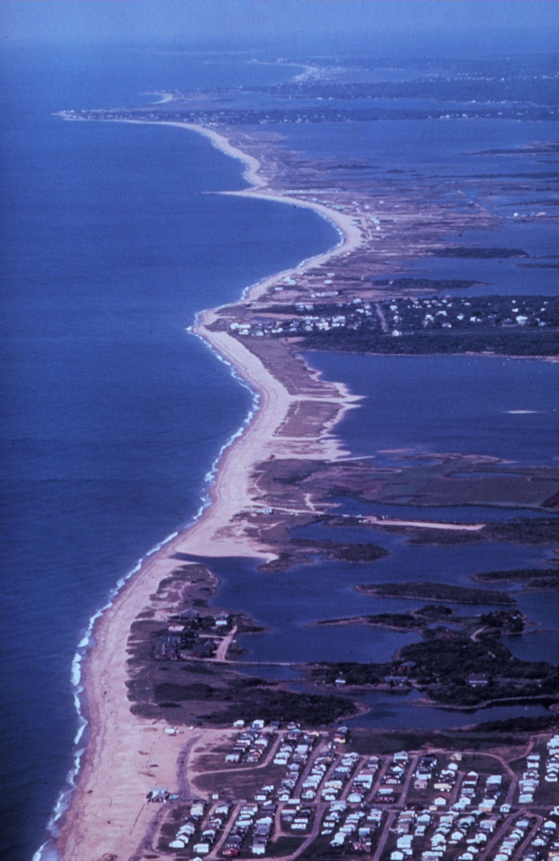 Barrier beaches near Westerly