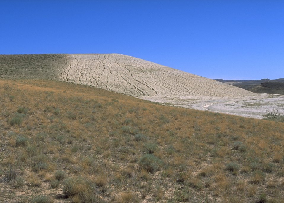 Gas Hill Abandoned Mine Lands in various stages of rehabilitation, Lander Field Office.