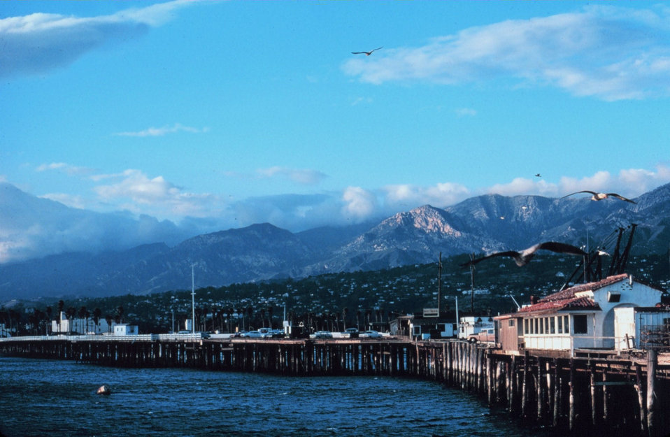 The pier at Santa Barbara