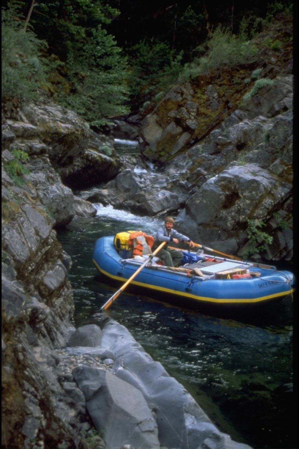 Rafting at Big Windy Creek (8,000 cfs).