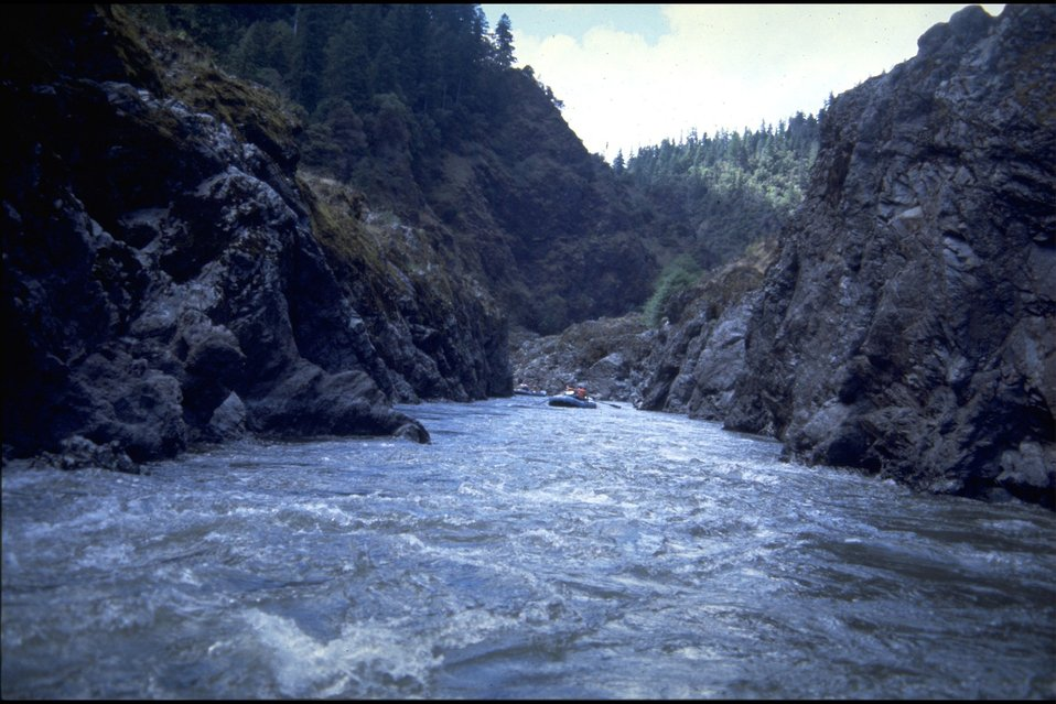 Rogue River; Rafting on Mule Creek Canyon.