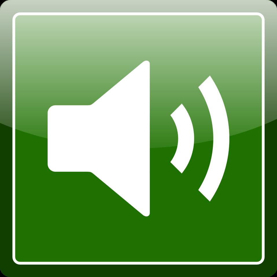 Green audio icon