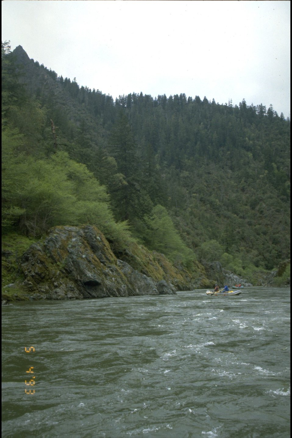 Mule Creek Canyon on the Wild section of the river.