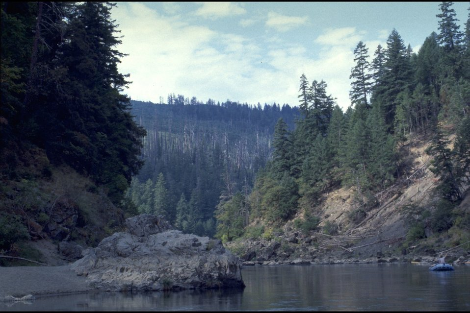 Quail Creek, wild section of the Rogue River.