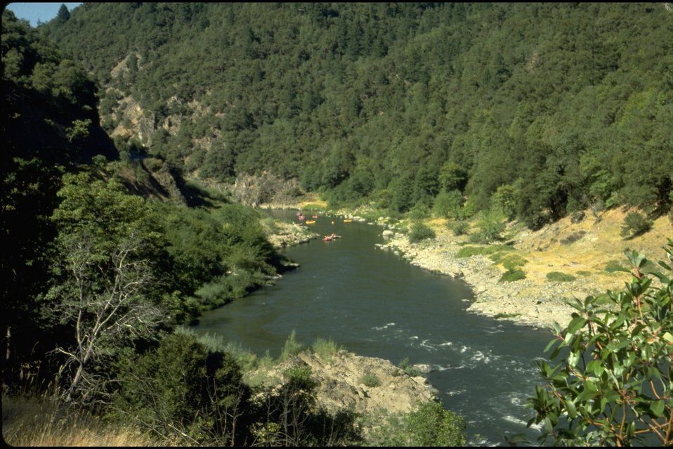 Rogue River; Canyon upriver from Argo Hellgate Recreation Area.
