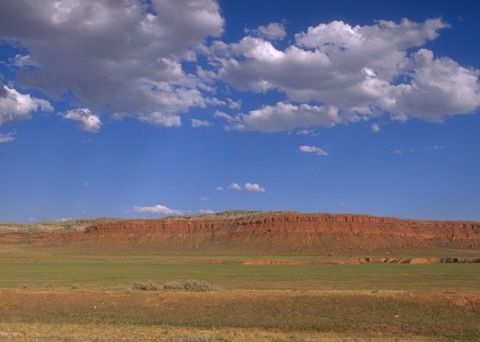 View of Red Wall, Buffalo Field Office.