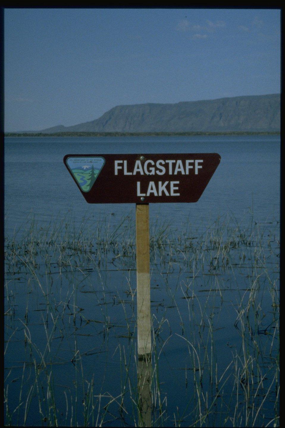 Flagstaff Lake.
