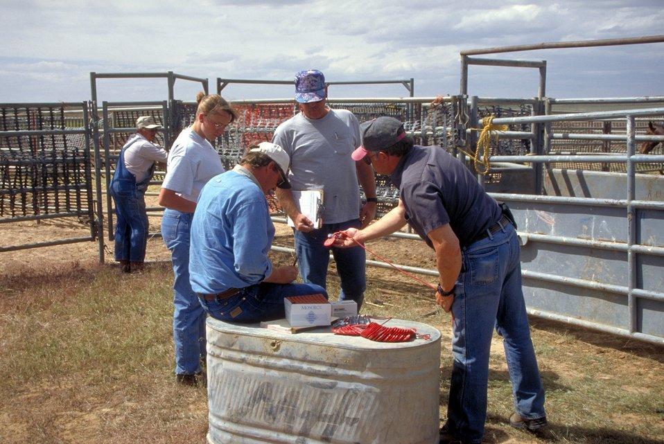 EIA testing near Vernal, Utah.