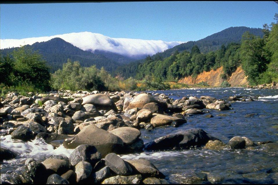 Rogue River, near Watson Creek, wild section.