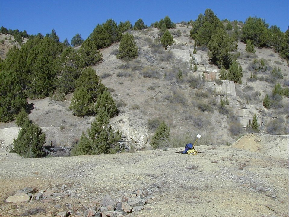 Demmings Mine, Millsite on North Fork Boulder Creek in Owyhees  Lower Snake River District  LSRD