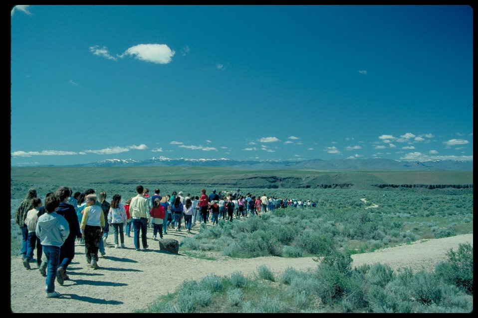 Dedication Point  Birds of Prey National Conservation Area  BOP  Owyhee Field Office  LSRD  Lower Snake River District