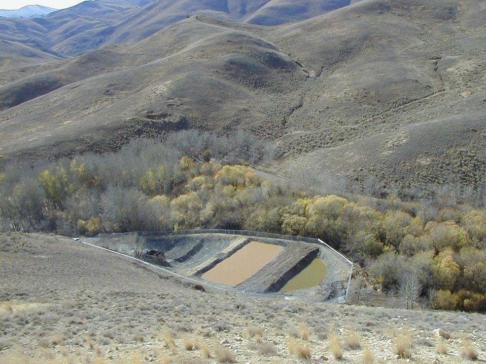 Passive Treatment, Bio-Reactor System  Champagne Creek  Southeastern Idaho  Upper Snake River District