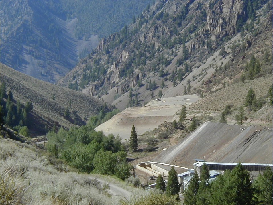 Clayton Silver Mine Tailings  Central Idaho  Upper Columbia-Salmon Clearwater District