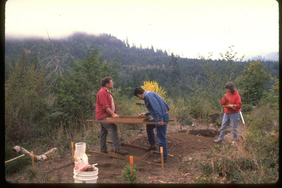 Acheologist Survey Site.