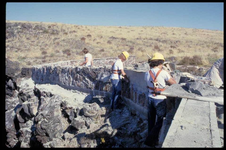 Dedication Point Construction  Birds of Prey National Conservation Area  BOP  Owyhee Field Office  LSRD  Lower Snake River District